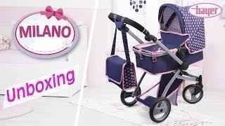 Milano - Dolls Pram - Puppenwagen - Unboxing - Bayer Design