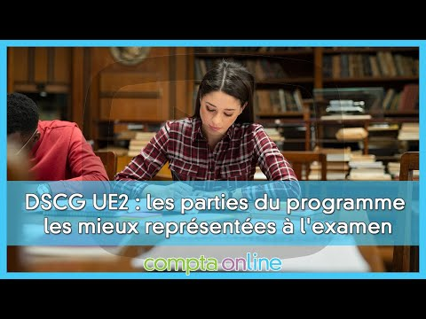 Les sujets de DSCG UE2 Finance