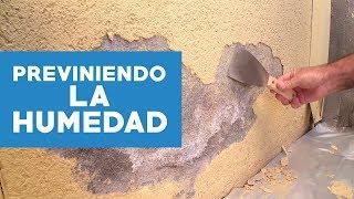 ¿Cómo eliminar la humedad en muros exteriores?