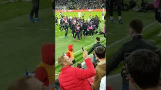 Драка на матче Краснодар - Зенит