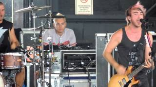 The Reckless and the Brave FULL SONG - All Time Low (Live from Pittsburgh Warped 7/12/12)
