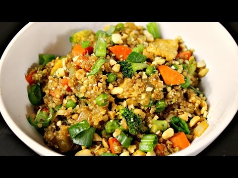 "Quinoa Stir Fry | (Quinoa Fried ""Rice"")"
