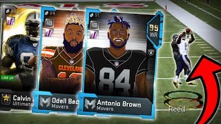 THESE RECEIVERS ARE ACTUALLY 100% IMPOSSIBLE TO STOP!! Madden 19 Packed Out #25