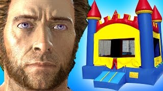 Gmod BOUNCY CASTLE Mod