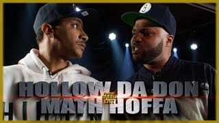 HOLLOW DA DON VS MATH HOFFA EPIC RAP BATTLE - RBE