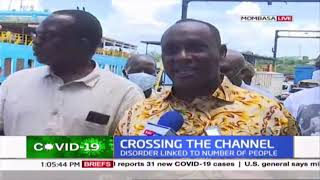 Challenges at Likoni Ferry as disorder linked to high number of people failing to maintain order