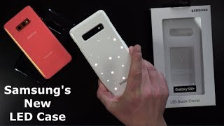 Samsung LED Back Cover REVIEW - Galaxy S10 Series