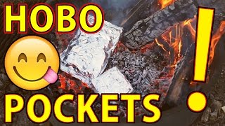 😋How To Make HOBO POCKETS - A Great Camping Meal!🍽