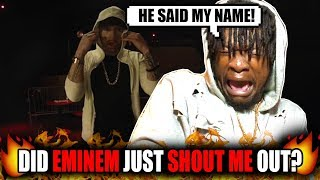 "Eminem Shouted Me Out?! | Eminem - ""Kick Off"" (Freestyle) REACTION!"