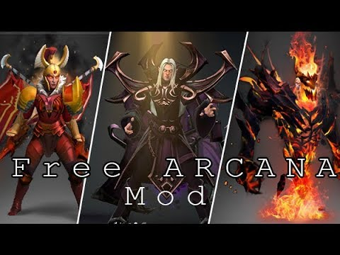 Dota 2 Mods | How To Get Free Arcana/Immortals/and more 7 19