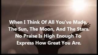 King of Glory by Todd Dulaney-Instrumental w/Lyrics - Самые