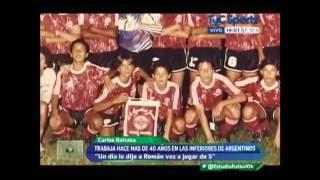 La Historia de Juan Roman Riquelme en Argentinos