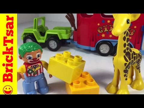 Vidéo LEGO Duplo 10550 : Le transport du cirque