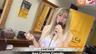 Anna Carina, cantando por un sueño (Prensa Libre 11-12-2009)