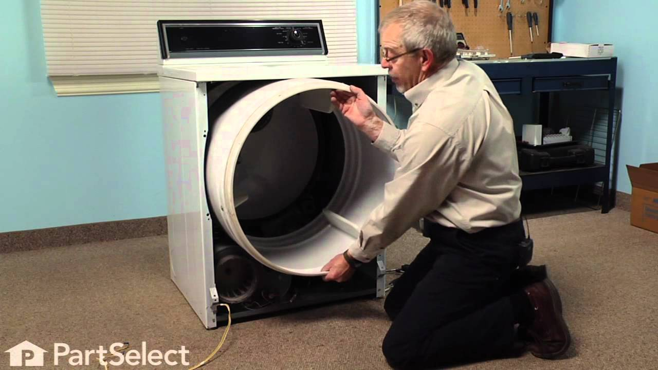 Replacing your Maytag Dryer Roller Shaft Hex Nut