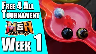 Marble Race Tournament: Free 4 All Fridays (Week 1)