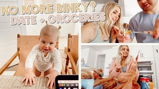 getting rid of the binky?? going on a date + grocery haul! by Aspyn + Parker