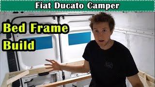 Fiat Ducato (Ram ProMaster) Van Life Camper Conversion - Bed