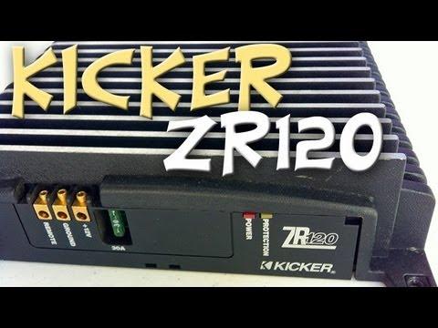 Kicker ZR120 Amplifier Overview Old School ZRX