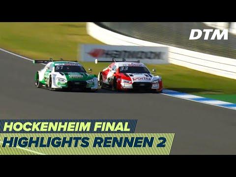 DTM ホッケンハイム(ドイツ) 2020 Rennen2ハイライト動画