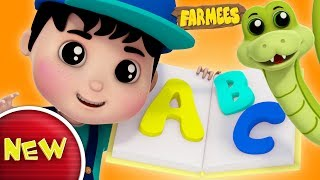 Phonics Songs | ABC Song | Alphabets For Kids | Nursery Rhyme | Baby Songs by Farmees S02E179