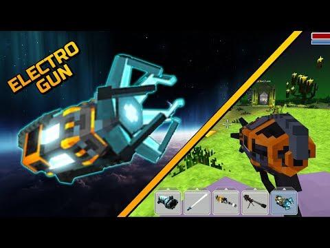 Blocky Cars Online - Electro-Gun (Gameplay Part 16)