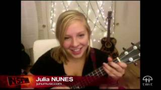 Julia Nunes performing Stay Awake on NSFW Summer Music Series