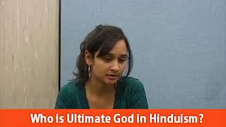 Who is Ultimate God in Hinduism