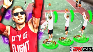 FIX YOUR JUMPSHOT IN 10 SECONDS BY DOING THIS IN NBA 2K20...