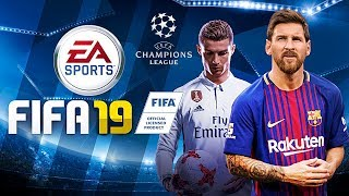 SAIUU!! FIFA 2019 + UEFA CHAMPIONS LEAGUE LICENCIADA (MOD ANDROID) COM NARRAÇÃO ESPANHOLA DOWNLOAD