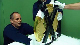 GOLD - USD - Moeda de ouro com 100 quilos roubada do Museu Bode