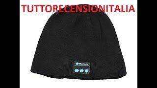 [Musica] Cappello Cuffia Auricolare Bluetooth