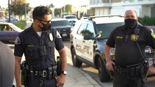 Fake cop vs Real police. Security Rolls Up & Gets Shut Down W/ #AVWatchmen