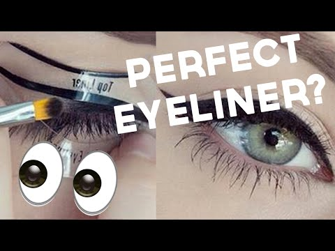 99p Winged Eyeliner Stencil Test & Review!