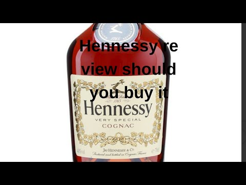 Hennessy very special cognac review