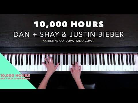 Dan + Shay, Justin Bieber - 10,000 Hours (HQ piano cover)