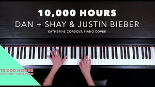 Dan + Shay, Justin Bieber   10,000 Hours (HQ Piano Cover)