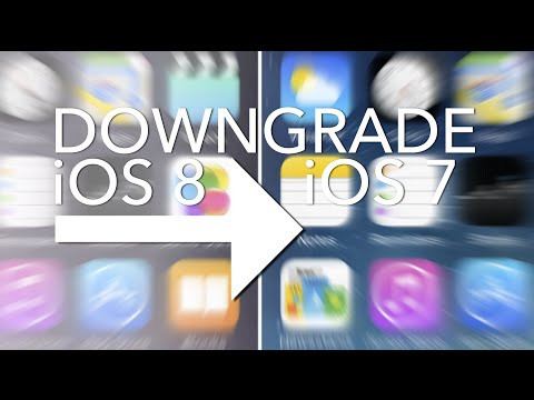 Downgrade From iOS 8 To iOS 7.1.2 While You Still Can