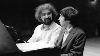 Radu Lupu & Murray Perahia play Brahms Haydn Variations, op. 56b - live