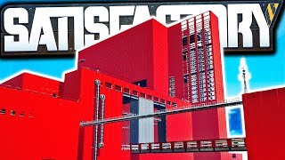 Is this the BEST FACTORY Design in Satisfactory? (YES) | Satisfactory Early Access Gameplay Ep 25