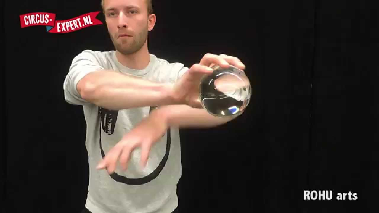 product video Acrylic ball Cristal 90 mm
