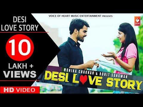 Desi Love Story | Haryanvi Comedy Video | Monika Chauhan, Rohit
