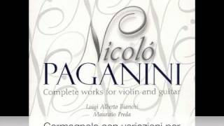 Paganini  - Complete works for violin and guitar CD 9-9