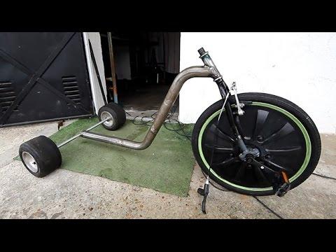 Como fabricar un Triciclo de Adulto - TUTORIAL -Trike Drift
