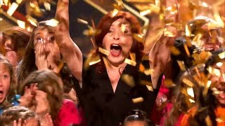 TOP 4 Choir Get GOLDEN BUZZER On Got Talent