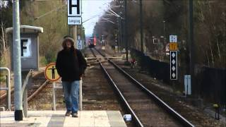 preview picture of video 'Bahnhof Neubiberg - S Bahn München [ 26.03.2014 ]'