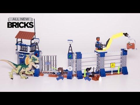 Vidéo LEGO Jurassic World 75931 : L'attaque de l'avant-poste par le Dilophosaurus