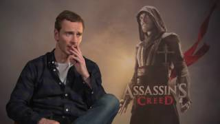 Michael Fassbender Interview ASSASSIN´S CREED spricht deutsch / speaks german ALIEN: COVENANT