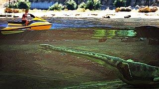 GTA 5 Loch Ness Monster Found? (GTA 5 Easter Eggs)