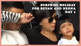 Surprise Holiday for Bevan and Neona day 1